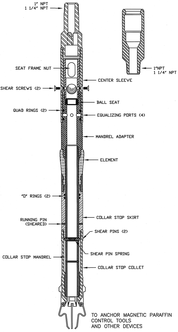 Templeton Locator Assembly (Equalizing)