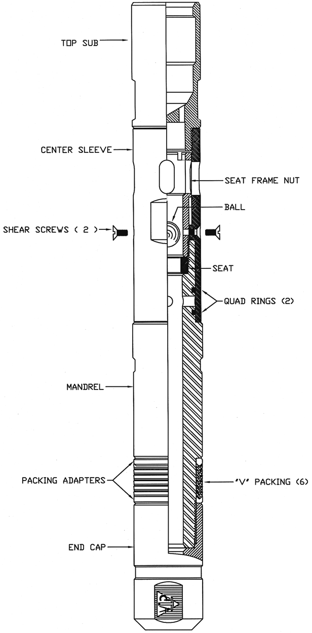 Templeton Test Plug with Equalizing Assembly (Seating Nipple)